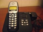 Радиотелефон  Simens  Gigaset  A165 с автоответчиком. Рабочий.